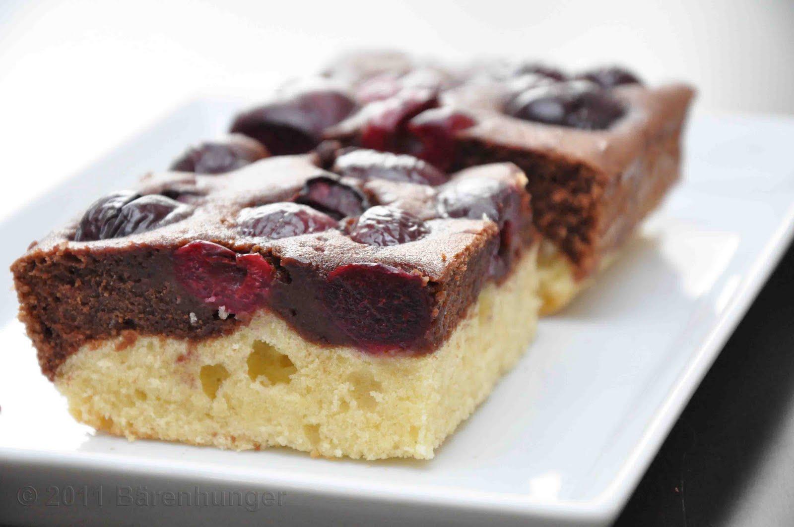 Schoko Kirsch Kuchen