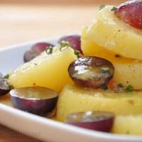 Kartoffel Trauben Salat