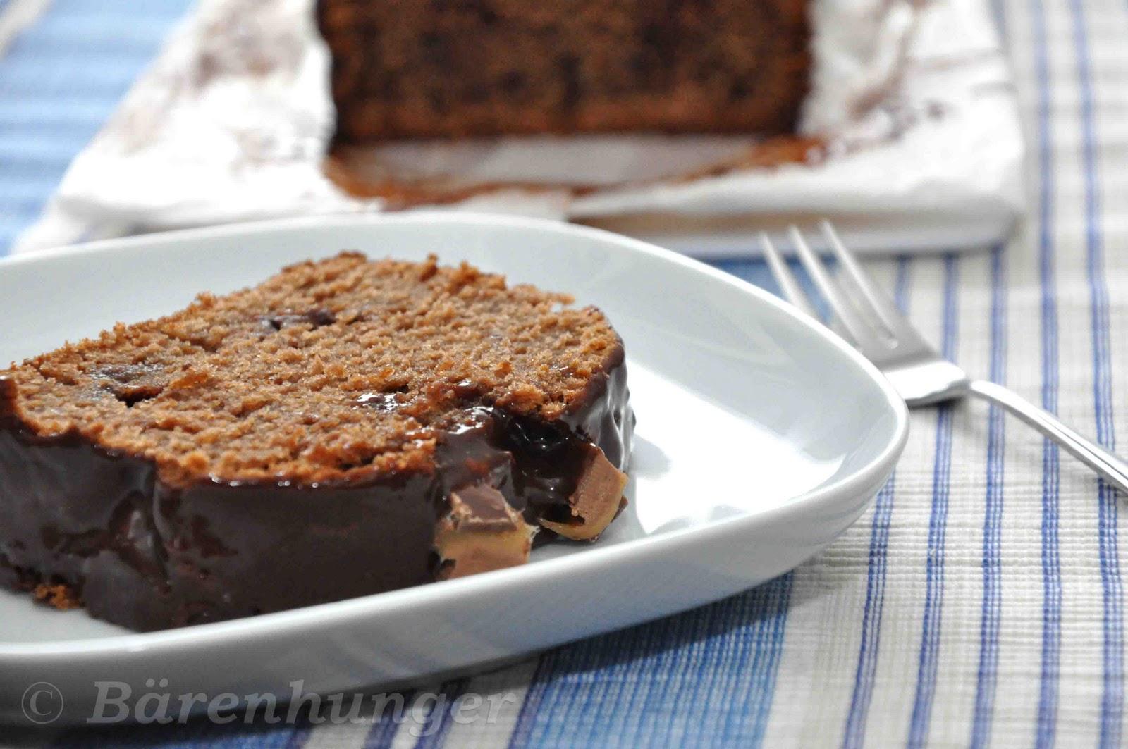 Schoko Mars Kuchen