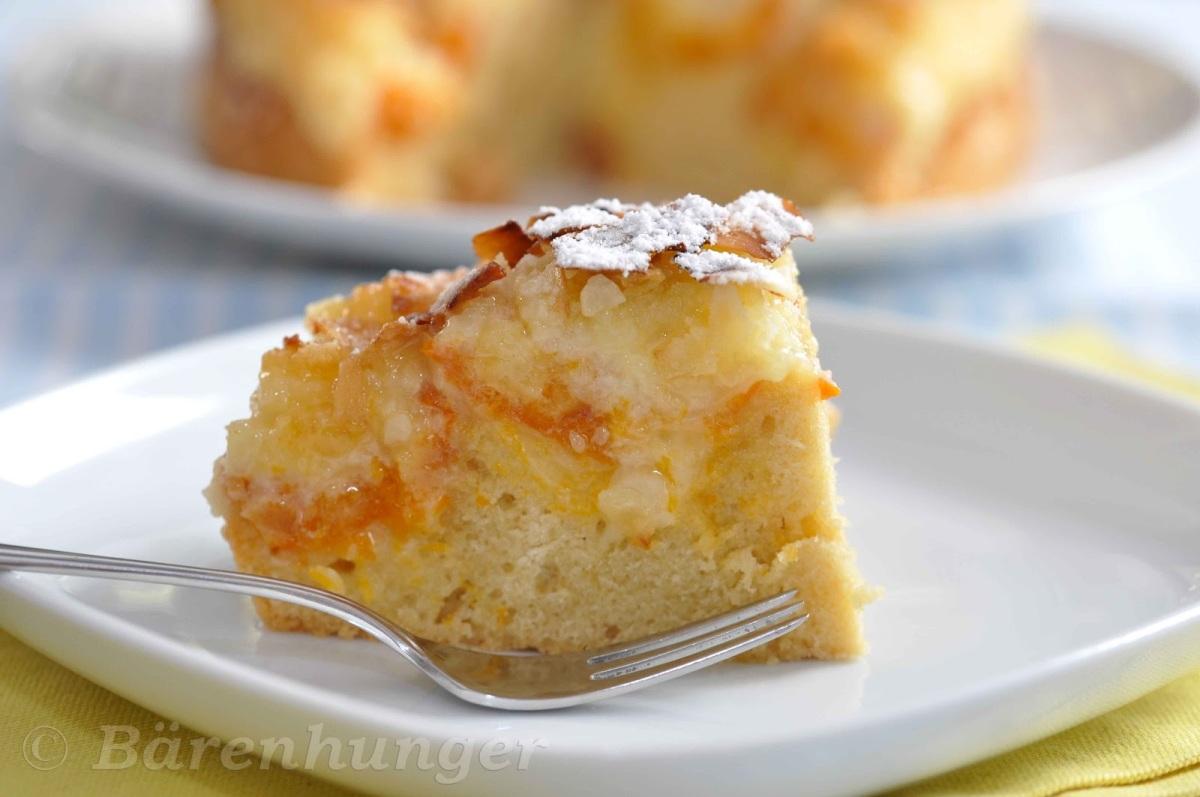 Kokos Marillen Kuchen