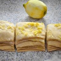 Zitronen Pull Apart Bread