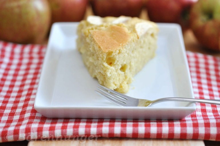 Apfel Kokos Kuchen
