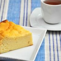 Topfen Grieß Kuchen ohne Boden
