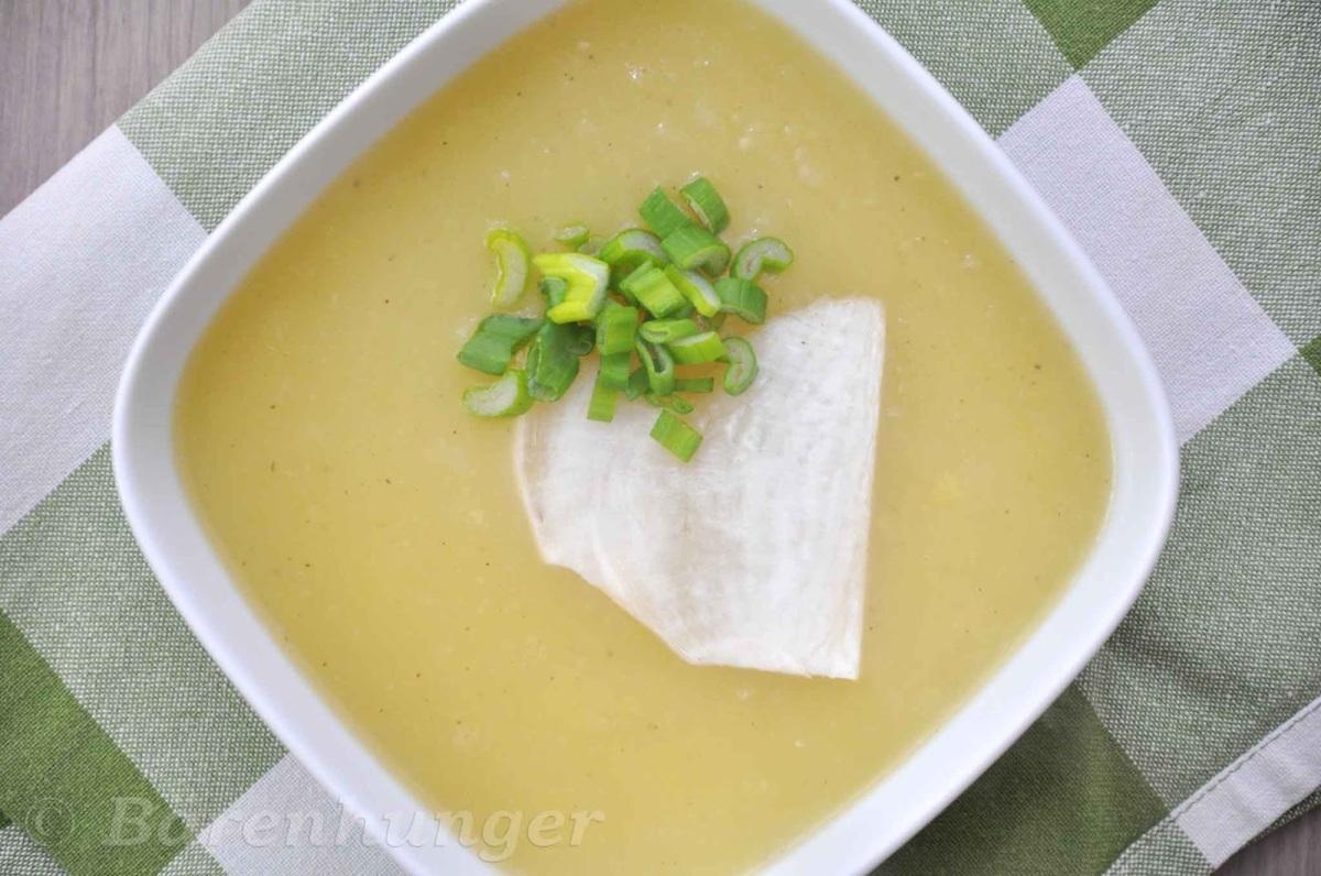 Kartoffel Rettich Suppe