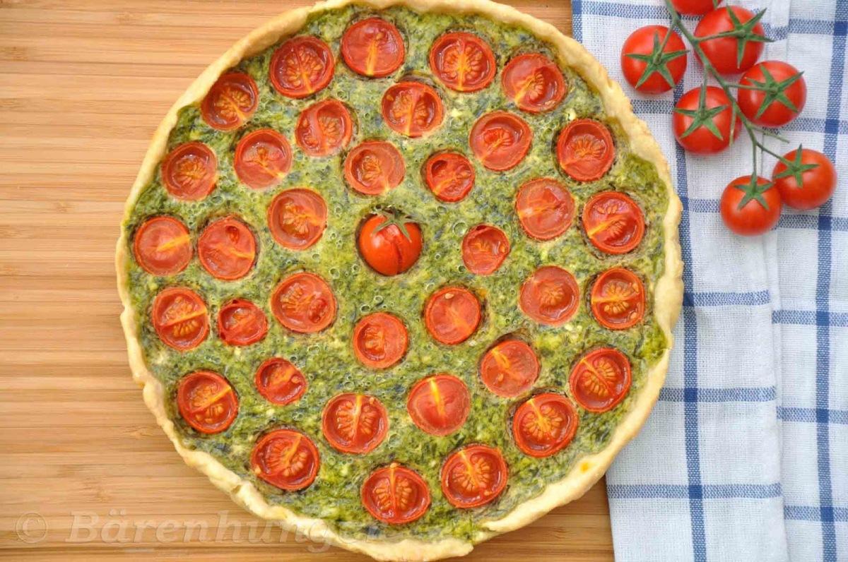 Bärlauch Tomaten Tarte