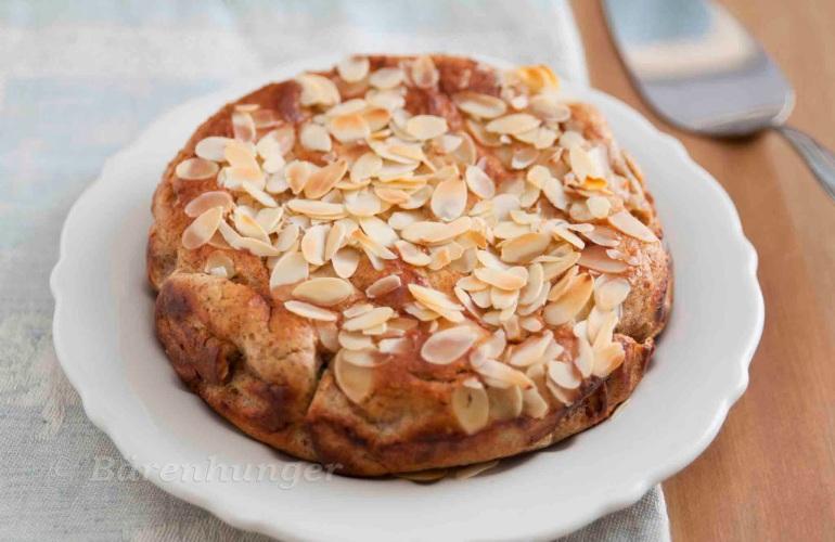 Mandel Ricotta Kuchen