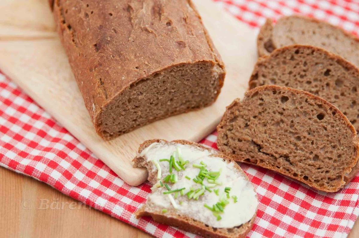Dinkel Roggen Brot