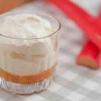 Rhabarber Vanille Dessert