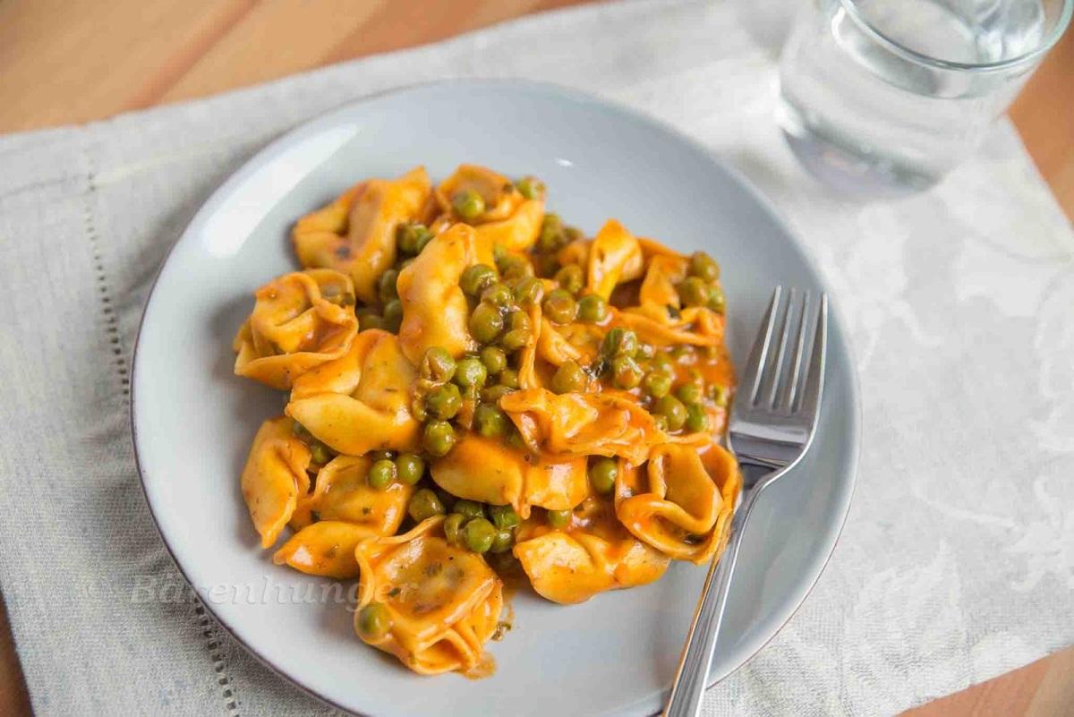 One Pot Tortellini mit Gemüse