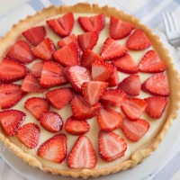 Erdbeer Topfentarte