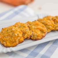Karotten Käse Taler