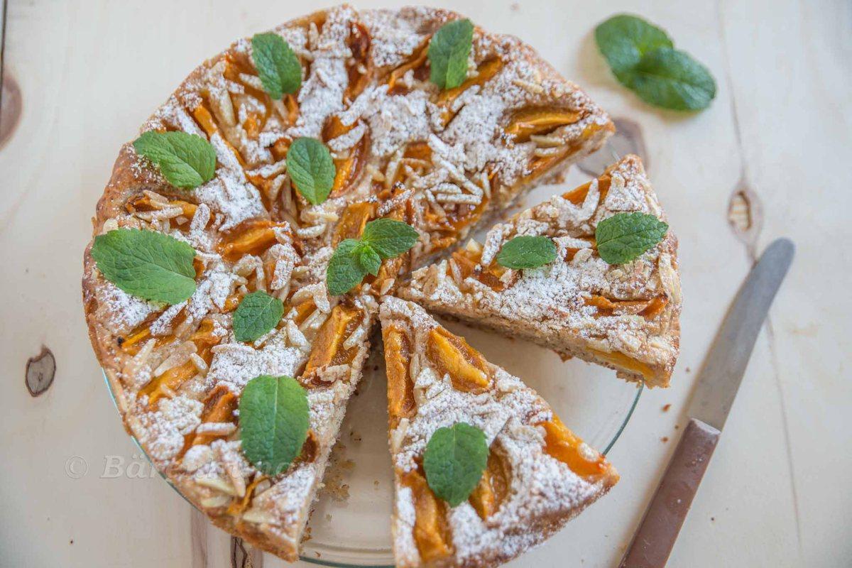 Mandel Marillen Kuchen