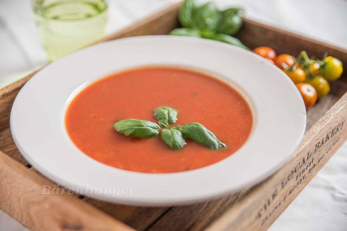 Tomaten Reis Suppe