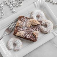 Vanillekipferl Brownies