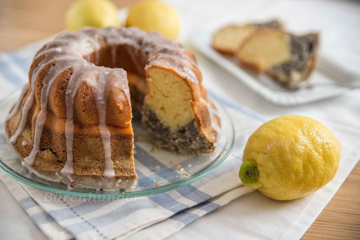 Zitronen Mohn Gugelhupf