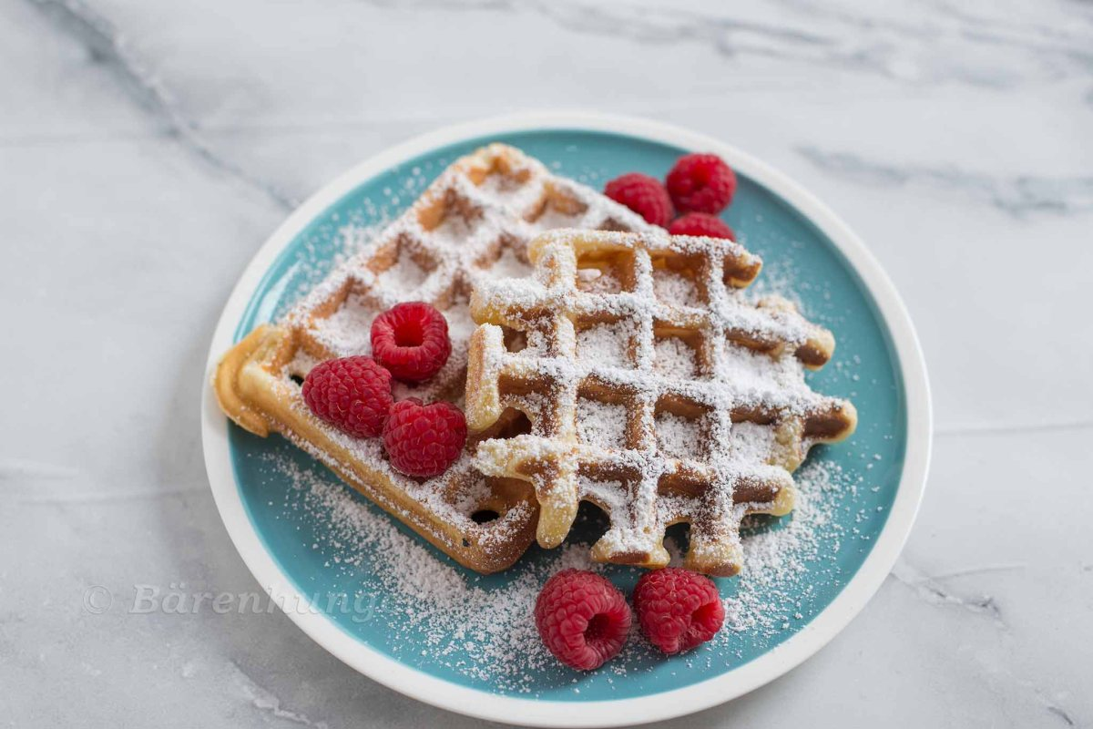 Buttermilch Waffeln