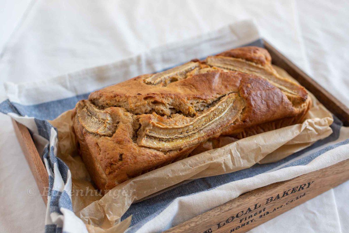 Bananen Dinkel Brot (ohne Zuckerzusatz)