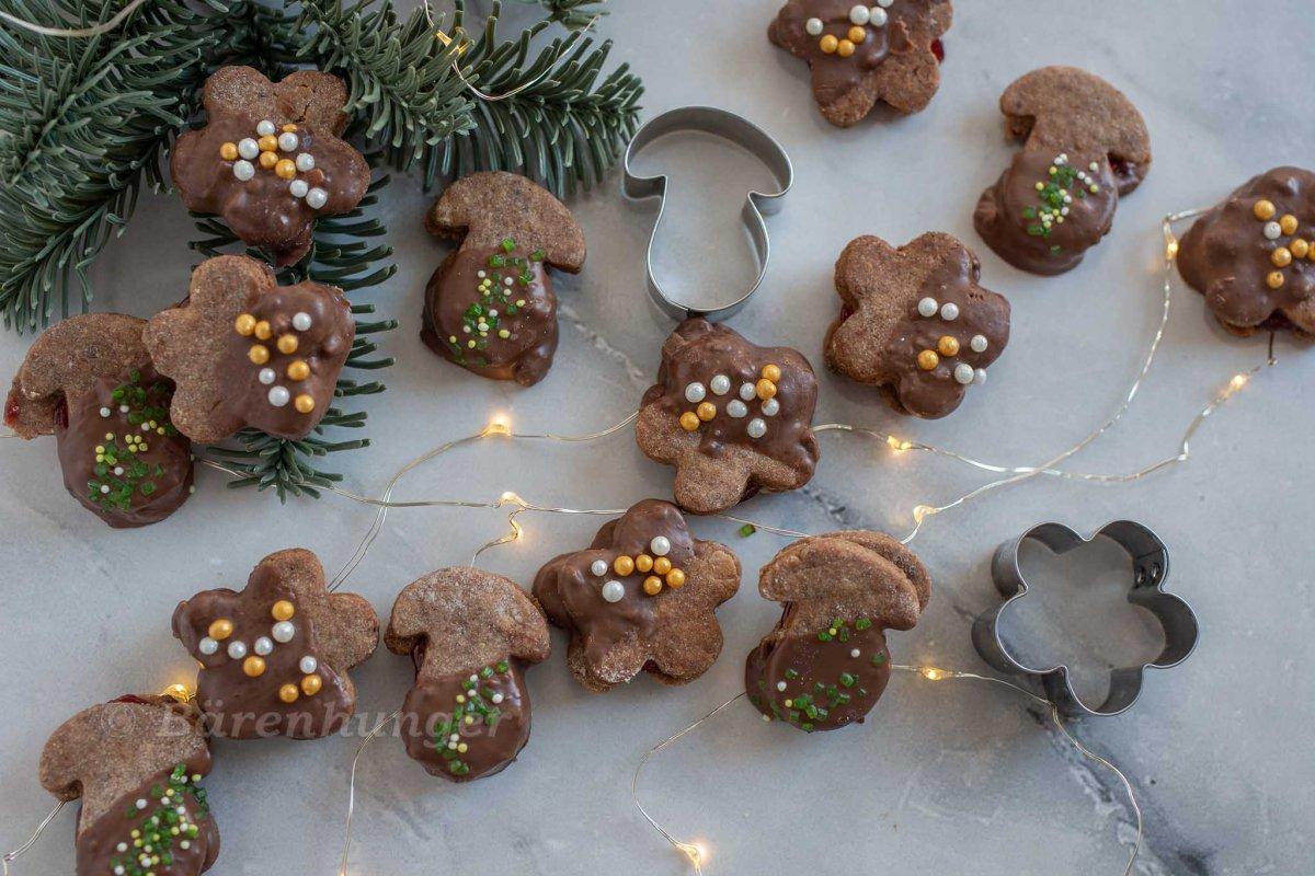 Schokoladen Kekse