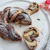 Gewickelte Schokoladen Babka