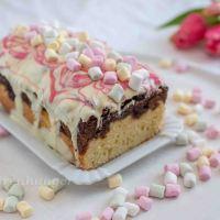 Marshmallow Marmor Kuchen