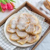 Apfel Vanille Pancakes