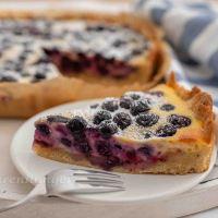 Skandinavischer Heidelbeer Kuchen