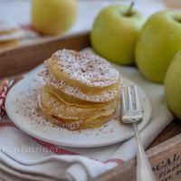 Ausgebackene Apfelringe
