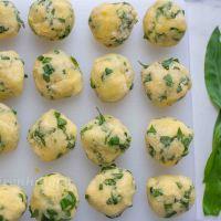 Bärlauch Kartoffel Knödel