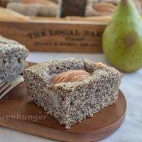 Birnen Mohn Kuchen