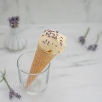 Lavendel Vanille Eiscreme
